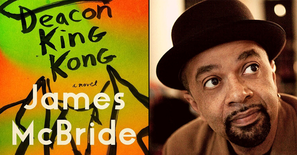 Best books of 2020 all-time best James mcbride and his book Deacon King Kong