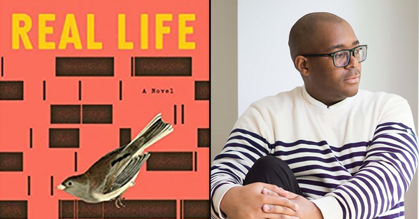 best books of 2020 and forever novel called Real Life with an author photo of the writer Brandon Taylor