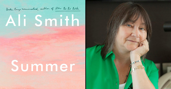 Best books of all time and also 2020 ali smith's Summer with a photo of the author