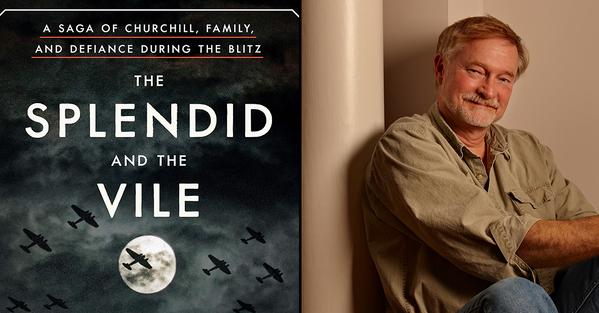 Best books of 2020 splendid and the vile churchill book. Erik Larson photo