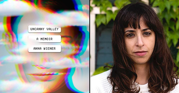 Best Books of 2020 and all-time Anna Wiener photo next to her book Uncanny Valley