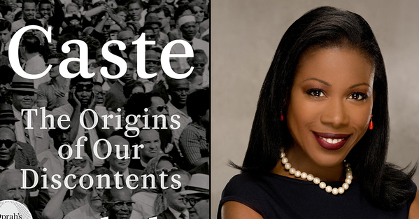 Best Books of 2020 Isabel Wilkerson and a photo of her and her book called Caste