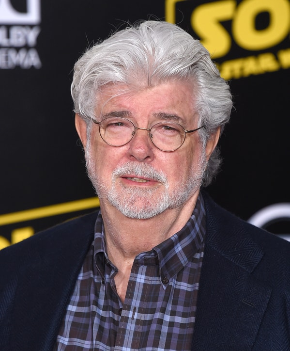 Celebrity weird facts, strange true stories about celebs, celeb facts that will make you rethink them forever, george lucas white beard, star wars creator