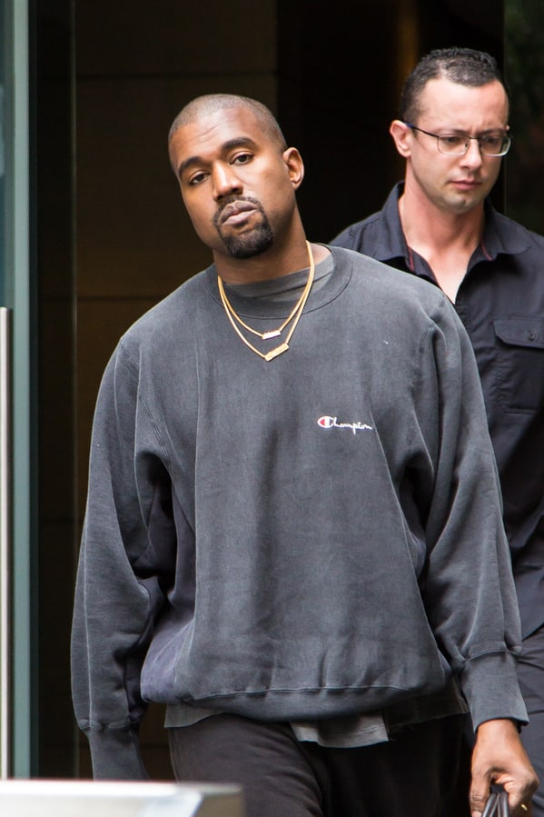 Celebrity weird facts, strange true stories about celebs, celeb facts that will make you rethink them forever, kanye west in a plain gray sweater