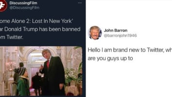trump twitter ban thumbnail hello i am brand new to twitter home alone 2 lost in new york star banned from twitter