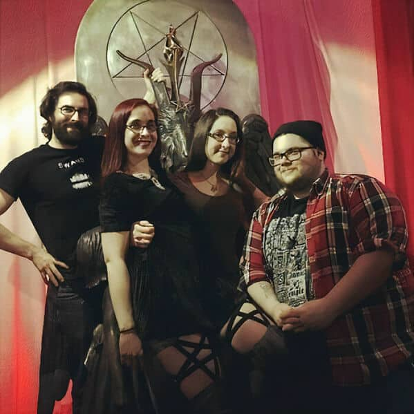 The Satanic Temple, The satanists are the good guys, satanists helping their community, Church of satan